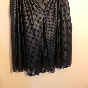 Faux Leather Calvin Klein Skirt
